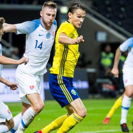 สวีเดน พบ สโลวาเกีย ยูโร 2020 สถิติก่อนแข่งที่น่าสนใจ
