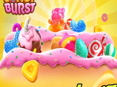 candy burst ทดลองเล่นสล็อต ค่าย pg ฟรี เล่นง่าย เกมแตกง่าย